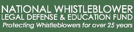 National Whistleblower Legal Defense & Education Fund Logo